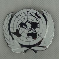 metal badges military - MILITARY UNITED NATIONS PEACE KEEPING ARMY BERET CAP HAT METAL MEDAL BADGE PIN