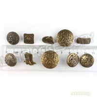antique sewing buttons - Assorted Vintage Antique Silver Tone Metal Buttons Fit Sew on Coat Clothes Pants