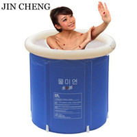 inflatable bathtub for adults - Brand Adult Spa Folding Portable Bathtub Warm Inflatable Bath Tub For Kids Gift PVC