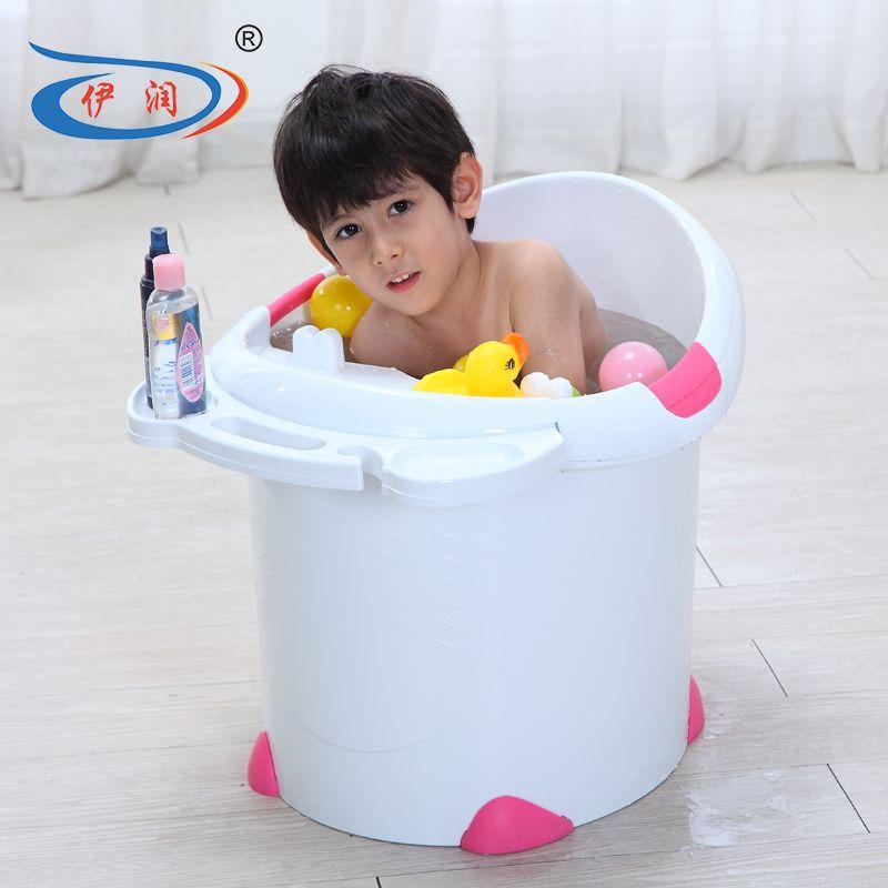 size l52 w56 h52cm baby tub large child bath bucket plastic baby bath bucket infant bath bathtub. Black Bedroom Furniture Sets. Home Design Ideas
