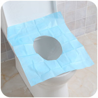 Wholesale Comfortable warm soft washable cloth toilet seat cover bathroom potty cover pads sticky toilet mat TC01
