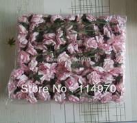 Wholesale cm Pink Mini Mulberry Paper Rose Flowers For Scrapbooking Wedding Favor Box Decoration
