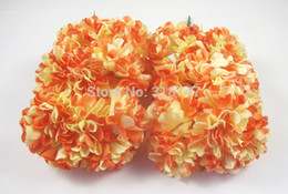 12pcs Mulberry Paper Flower Bouquet wire stem wedding flower 027011010