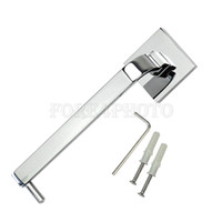 bath paper holder - 1Pc Bath Bathroom Toilet Wall Mounted Paper Tissue Holder Silver White Metal