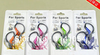 ipods - 2015 Promotion Water Resistant RP HS33 Sports HS33 earphones headphones for iPods MP3