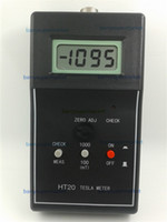 Wholesale Huntoon Digital Gauss Meter Tesla meter HT fluxmeter to measure the magnetic field magnets English Version