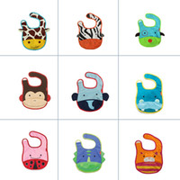 Animal Feed - 11 Styles Cute Baby Infants Cartoon Animals Lunch Bib Saliva Towel baby Feeding Waterproof