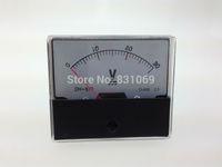 analog voltage panel meter - Analog Volt Voltage Voltmeter Panel Meter DC V V