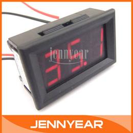 Wholesale 0 quot LED digital tube Display Current Tester Meter DC A Red LED Digital Ammeter Current Shunt