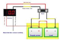 automotive ammeter - 20 quot Digital DC Ammeter A Red LED Ampere Meter Panel Gauges Automotive current Tester LT15