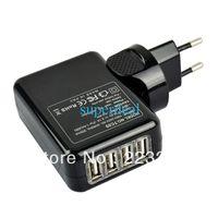 amazon f - 4 Ports USB Wall Home Travel AC Power Charger Adapter For IPOD Phone Samsung Amazon EU Plug F