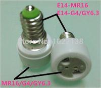 E12 e27 g4 adapter - Hot E14 TO MR16 LED socket adapter E14 TO G4 LED bulb base extender E14 TO GY6 Lamp holder E27 MR16 Converter Free Ship