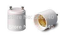 Wholesale 500pcs Fire proof PBT GU24 male to E26 female GU24 to E26 adapter E26 to GU24 converter
