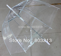 Wholesale Straight Clear dome umbrella mushroom umbrella promotion umbrella