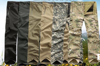 Wholesale Waterproof Windproof Sports High quality Lurker Shark skin Soft Shell TAD V Outdoor Military Tactical Pants Combat trousers