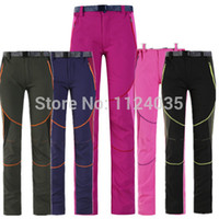 Wholesale 2015 new outdoor sports candy colored pants female breathable wicking stretch UV sunscreen thin quick drying pants