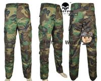 bdu pants medium - 2015 Men Spring Autumn Tactical Paintball Medium Waist BDU Fatigue Trousers Army Combat Training Pants
