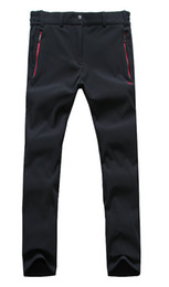 Wholesale Male Women soft shell pants water thermal kg quick drying pants