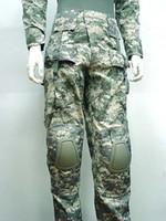 acu digital pants - Tactical Combat Pants w Knee Pads Digital ACU CAMO