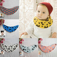 Wholesale The Good Price For Winter Infants Kids Cartoon Baby Towel Saliva Waterproof Lunch Bibs