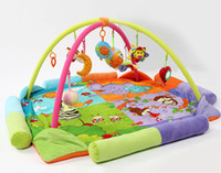 baby toys educational materials - educational baby toys play gym large big mat Infant floor blanket years cotton material
