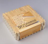 baby floor mat gym - 9pcs Wood Grain Split Joint EVA Foam Puzzle Mat cm cm cm Foam Floor Baby Gym Play Mat Tapete Infantil colors