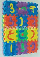 arabic toys - 36Pcs CM CM Environmentally EVA Foam puzzle Arabic Play Mat Puzzle Floor Mats Baby Carpet Pad Toys For Kids