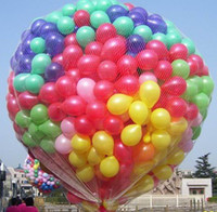 Wholesale 100 quot inch Latex Round air balloons Kids birthday Wedding party decorations