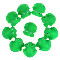 baby shower frogs - One Dozen Rubber Cute Frog With Sound Baby Shower Party Favors Toy Pop