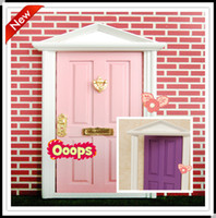 Wholesale 2015 fairy doors factory pcslot cute toys girls fairy doors for children minature doors for kids