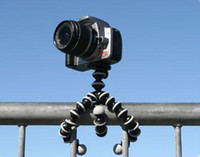 Wholesale Rubber Mini Flexible Portable Tripod Glip for DC Camcorder Digital Camera Tripod