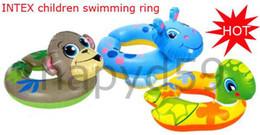 free ship 1pcs kid children INTEX #59220 children swimming ring swim laps Buoy swimming lap
