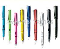 Wholesale 10 Colors High Quality Lamy Safari Fine Nib Fountain Pen with Gift Box