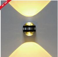 Wholesale Modern led wall light W High Power LED Up Down Wall Lamp Spot Light Sconce Lighting NEW