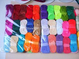 "Wholesale-MOQ 5 yards per color U Pick Color 5 8"" FOE Fold over elastic ribbon DIY headband 50 yards  lot 84 colors stock! Free"