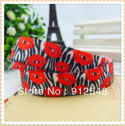 Wholesale Ann Fashion Accessories inch MM Cartoon Fold Over Elastic FOE yds oll WM1626