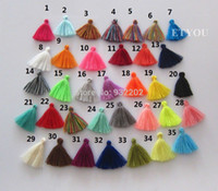 Wholesale Mini Cotton Tassel For DIY Dress Cloth Jewelry Acessory Approx CM Mix Color