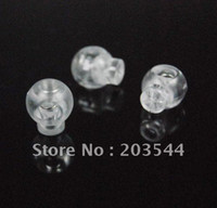 cord stoppers - package Cord Lock Toggle Stopper plastic Transparent clear frost Size mm mm mm toggle clip FLS002 TS
