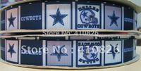 sports ribbon - WM ribbon OEM quot Sport Team dallas cowboy printed grosgrain ribbon yds roll