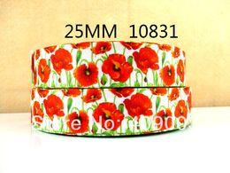 Wholesale Y10831 kerryribbon freeshipping flowers pattern printed ribbon Grosgrain ribbon diy packing headwear garment