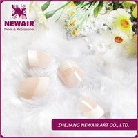 acrylic nail brands - brand new classical french nail art tips full cover uv gel false nail with nail tools g glue MSFN03