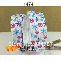 Wholesale Freeshipping new arrived ribbon quot yards Frozen snowflake ribbon