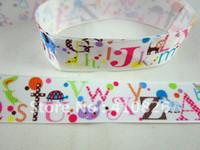 abc quilt - WM ribbon quot mm animal ABC grosgrain ribbon yds roll