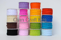 Wholesale yards ric rac zig zag trim ribbon for crafting and creating mixed colors or you pick