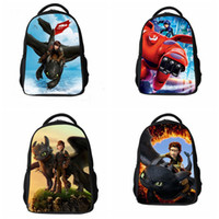 Wholesale 2015 How to train your dragon backpacks children school bags for boys girls cool cartoon school bags students backpack mochilas