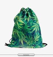 bandana backpack - Backpacks d print LEAF BANDANA BULLETS PIXEL FLAG LADY MARY Backpack new fashion Daily unisex softback travel bag