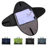 43.5 * 32.5 * T-shirt da Uomo 1CM borse Borsa bagagli uomo Viaggi Bag Abbigliamento Organizzatore Borse per Viaggiare Protector Box caso dell'organizzatore