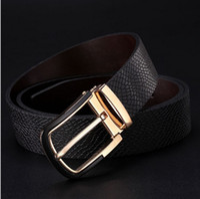 Wholesale 2015 NEW Lowest Price Promotion Design Famous Brand Luxury genuine leather Belts Men Belts Male Waist Strap Alloy Buckle Free