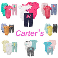 Wholesale RY0009 Carter s infant set kid piece clothing suit Baby Girls and Boys Spring amp Autumn Clothes Retail