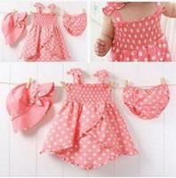 girls wear underwear - sets Girl suit Children Clothes Baby Hat dress Skirt Baby Underwear Baby Wear girls clothes
